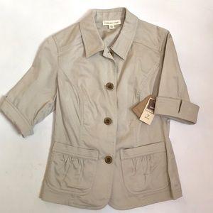 NWT ColdWater Creek Pocket Detail Jacket